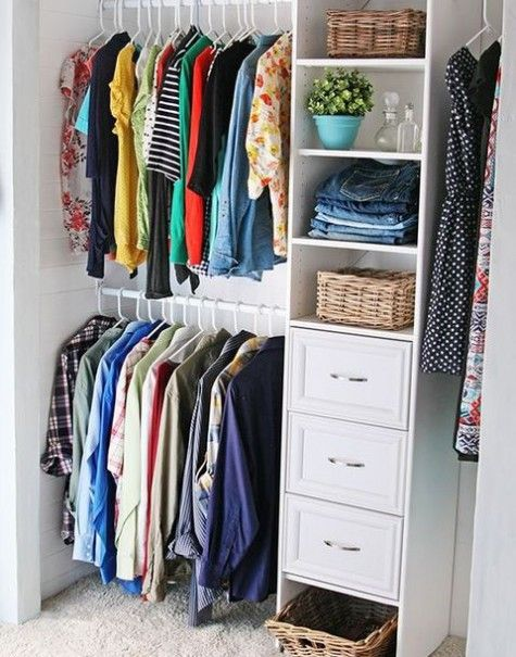 closet_organization_24 | Walk in closets | Pinterest