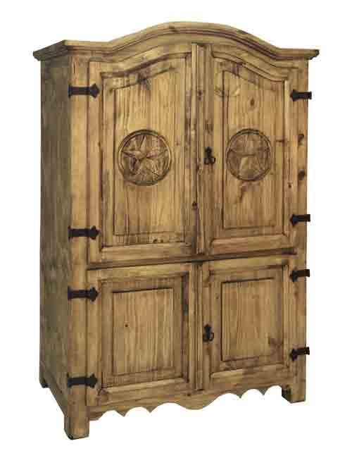 Texas Star Texas Star Armoire By Rustic Specialists Armoire Tv Armoire Furniture