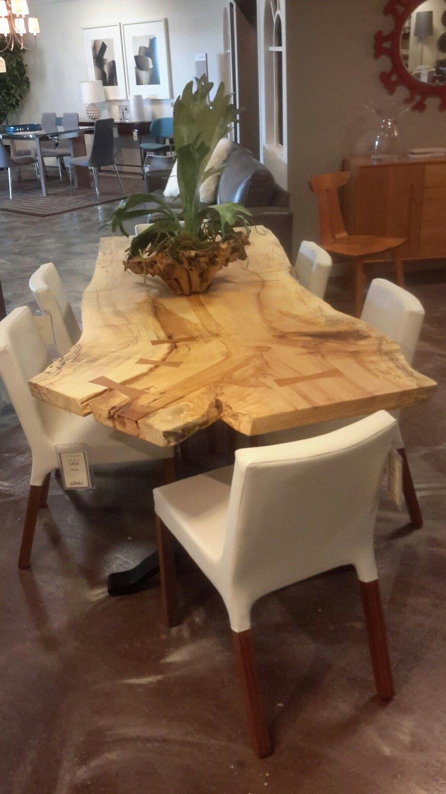 Beautiful Live Edge Table. Natureu0027s Fingerprint! Allens Home, Omaha Nebraska