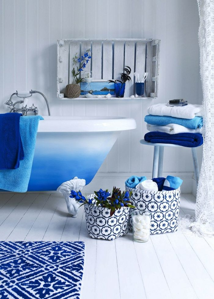 Bathroom inspiration bathroom ideas trier mykonos indigo powder room bathrooms blue home house design