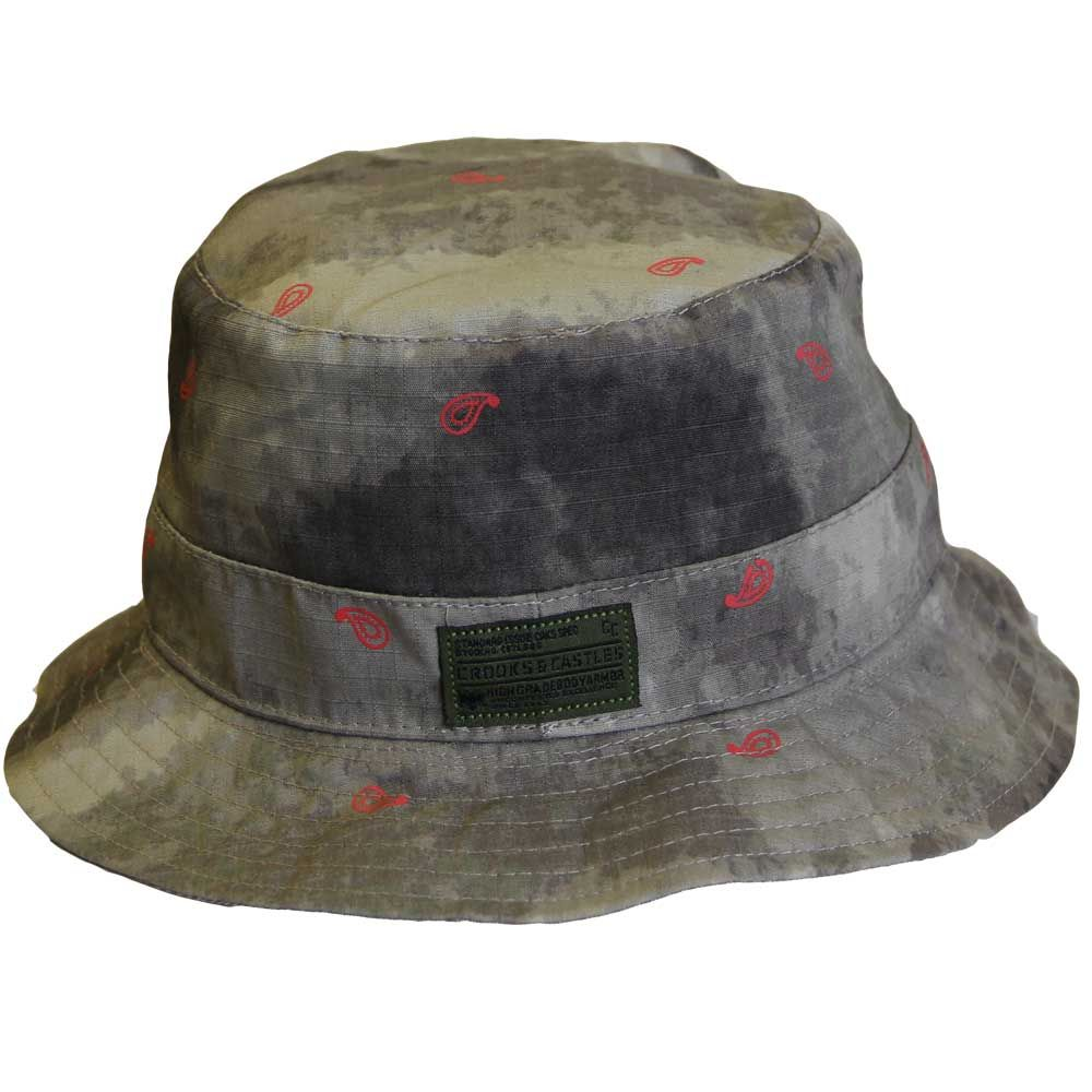 6f18523750a76 Crooks   Castles Killstreak Woven Bucket Hat Desert Camo