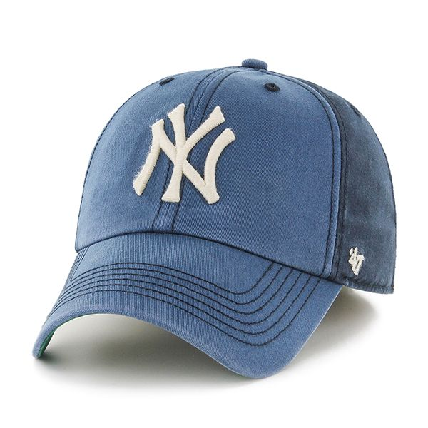 huge selection of f0b4d 2a247 New York Yankees 47 Brand Navy Humboldt Franchise Fitted Hat