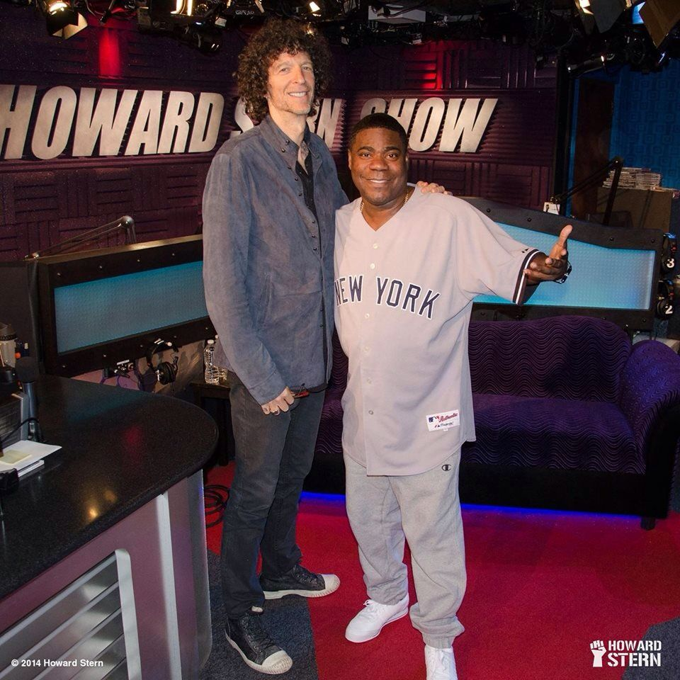 howard stern and tracy morgan all things howard the king of all