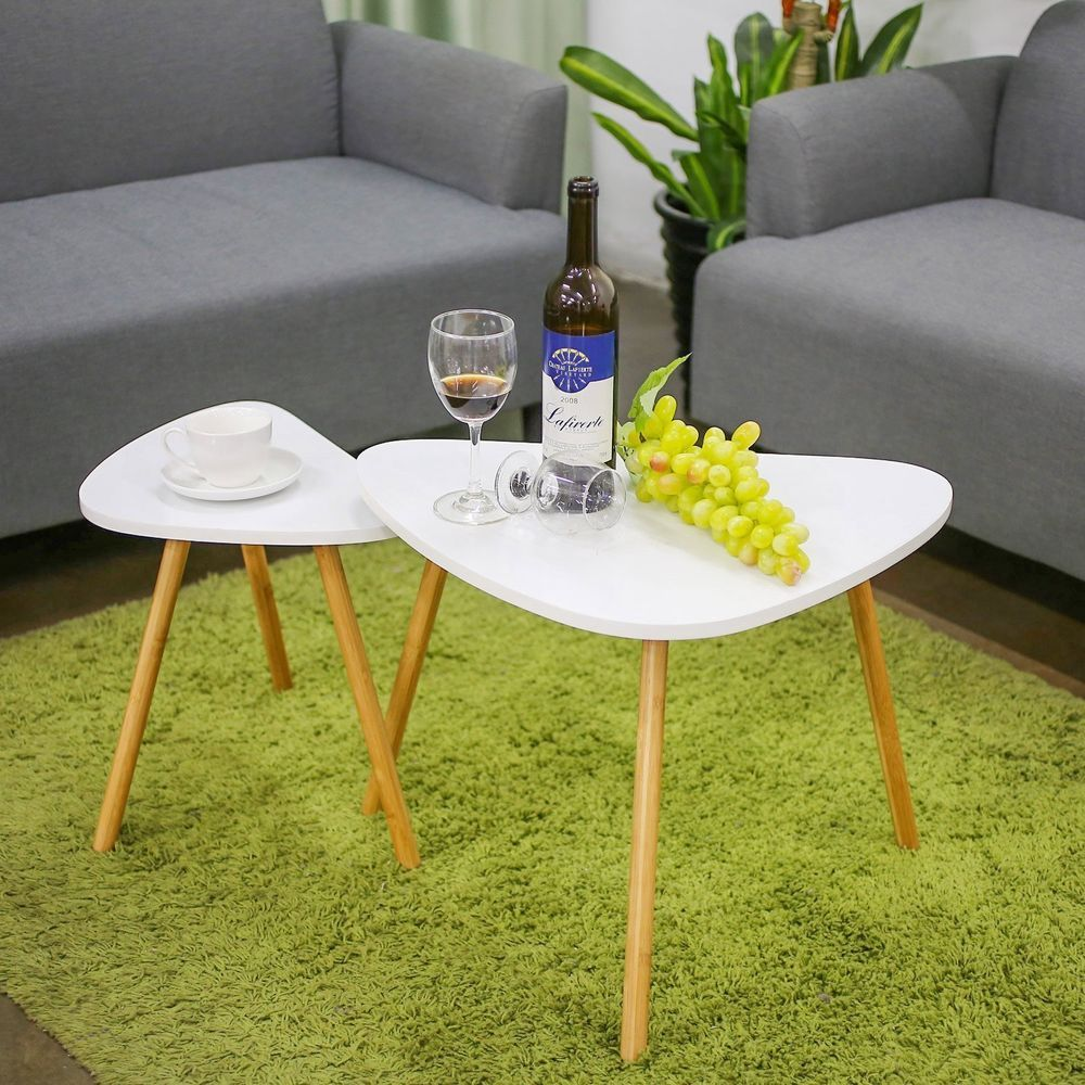 Contemporary Accent Table Modern Side End Tables Minimal