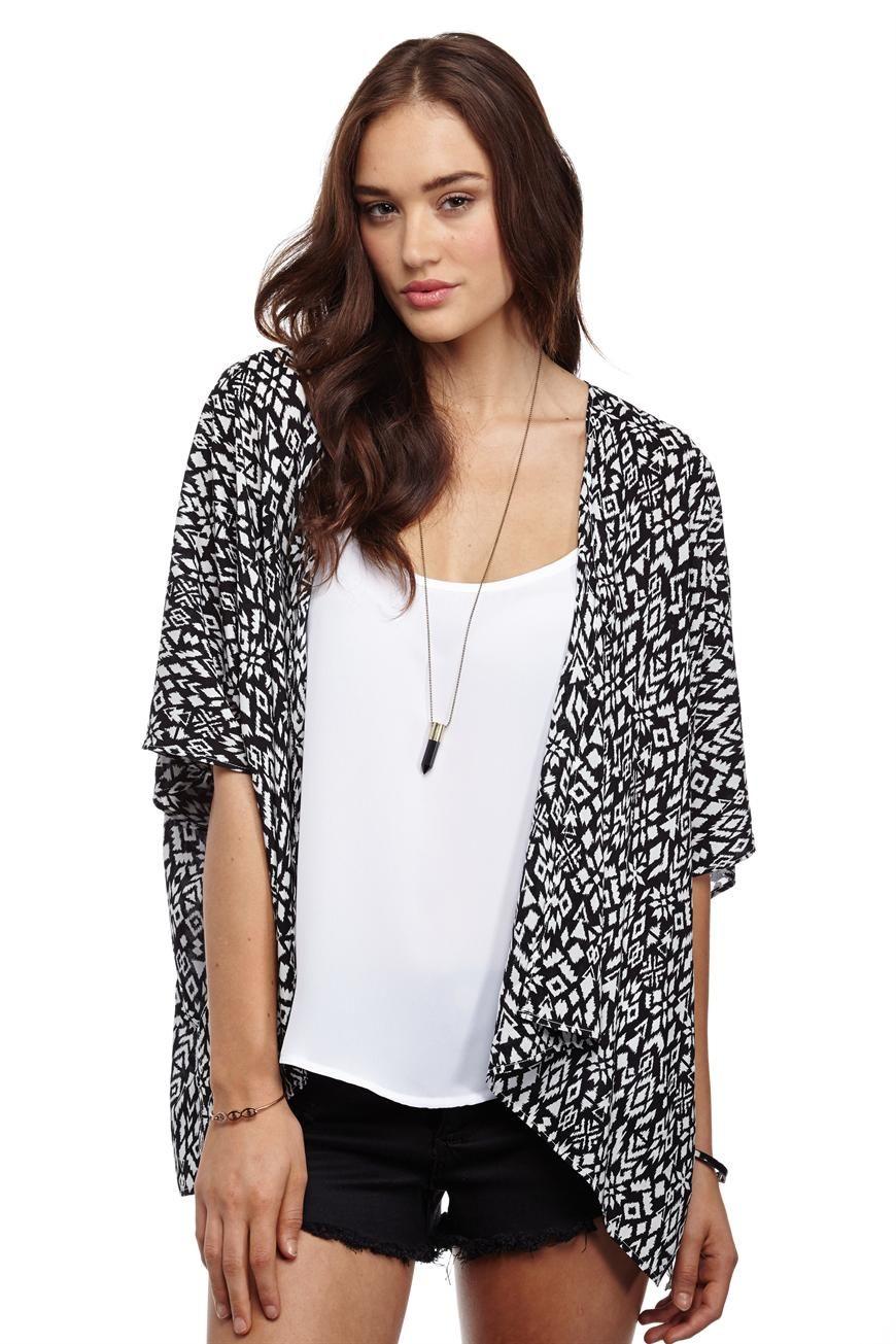 talia cropped kimono | Cotton On | Fashion and Style | Pinterest ...