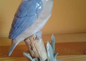 Porcelanowa Figurka Zimorodek Parrot Bird Animals