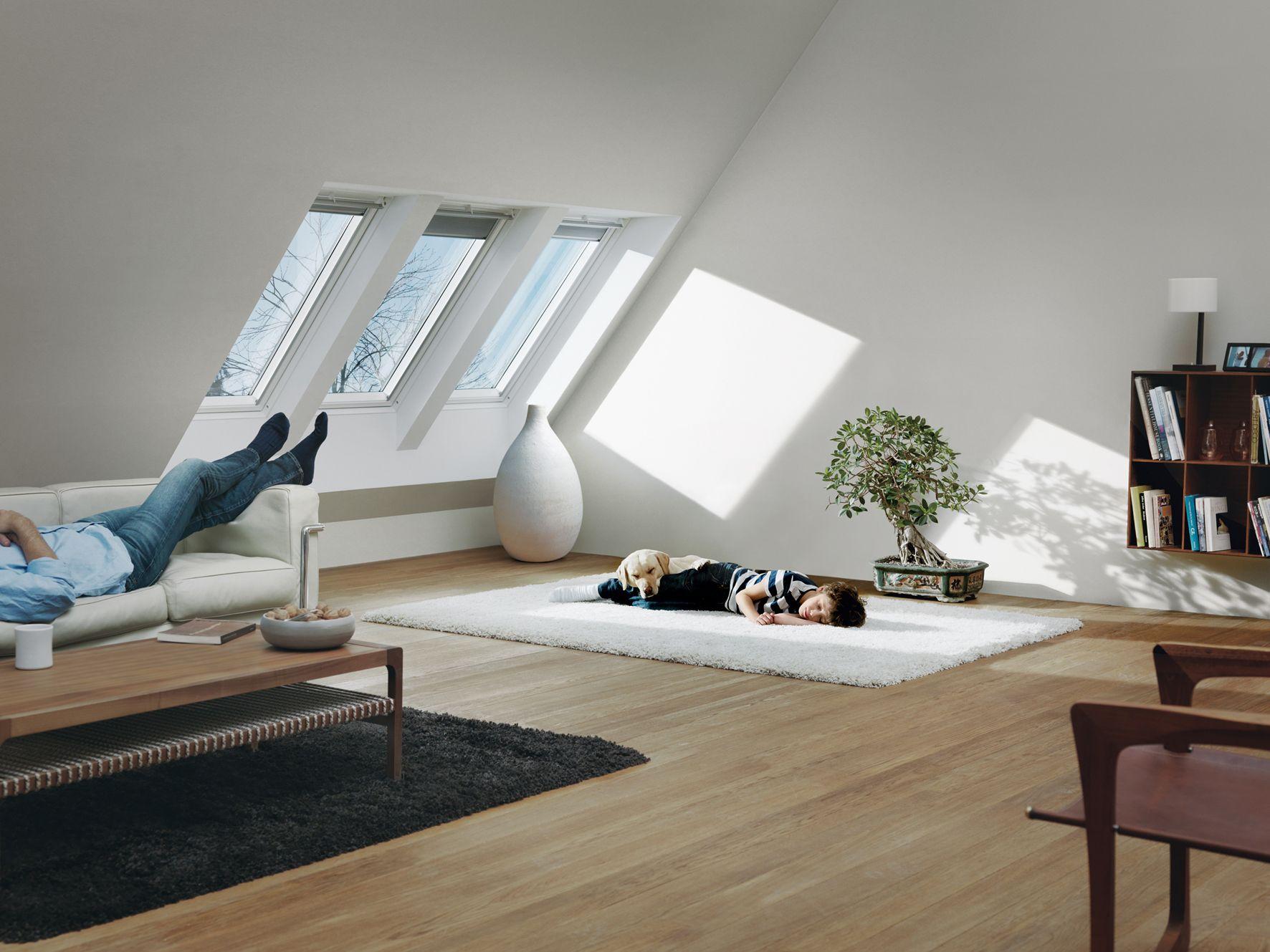 Velux dakvensters interieur ideetjes zolder