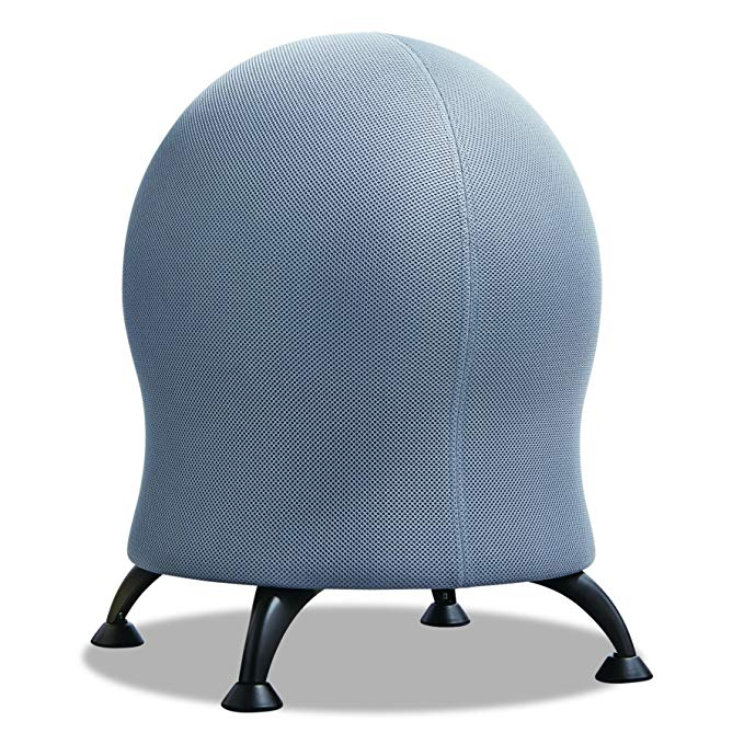Safco Products Zenergy Ball Chair , Gray, Low