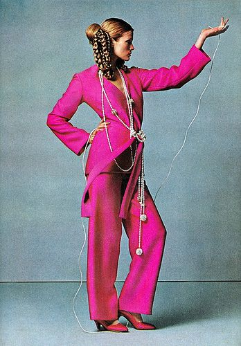 Willy van Rooy by James Moore, Harper's Bazaar 1969