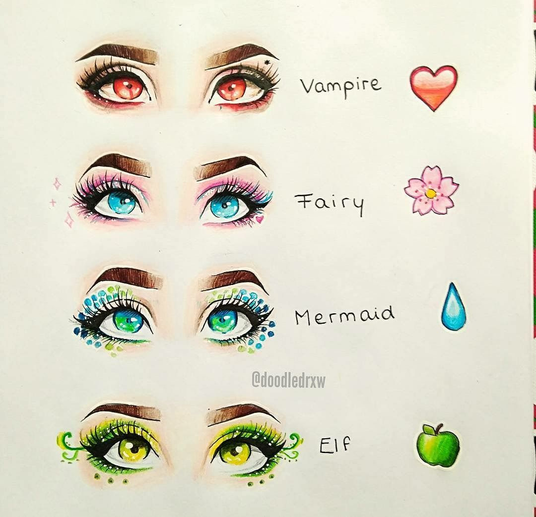 These would be so pretty as makeup looks. As a Pisces, of