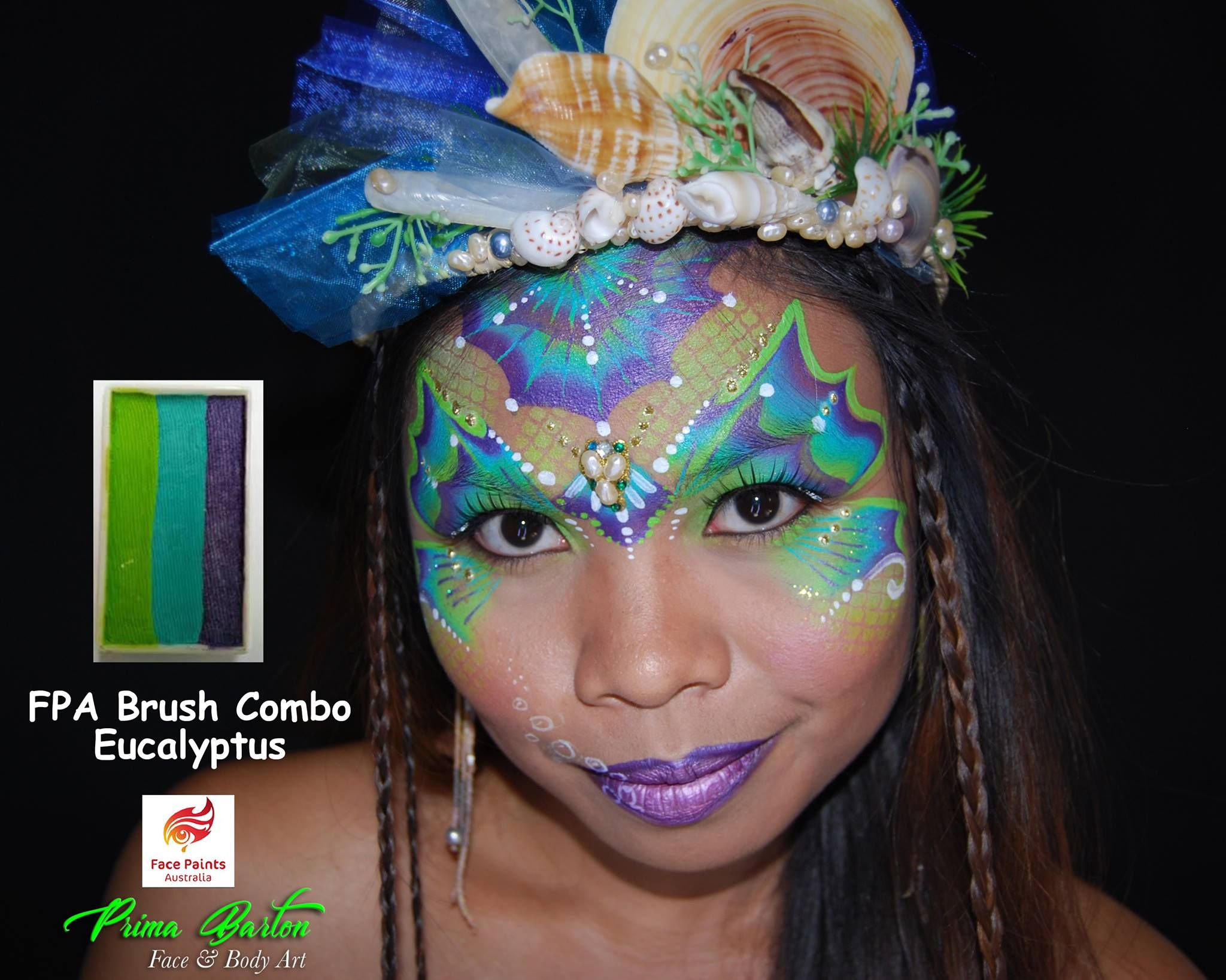 Pin by Maria's Face Painting on under the sea Mermaid