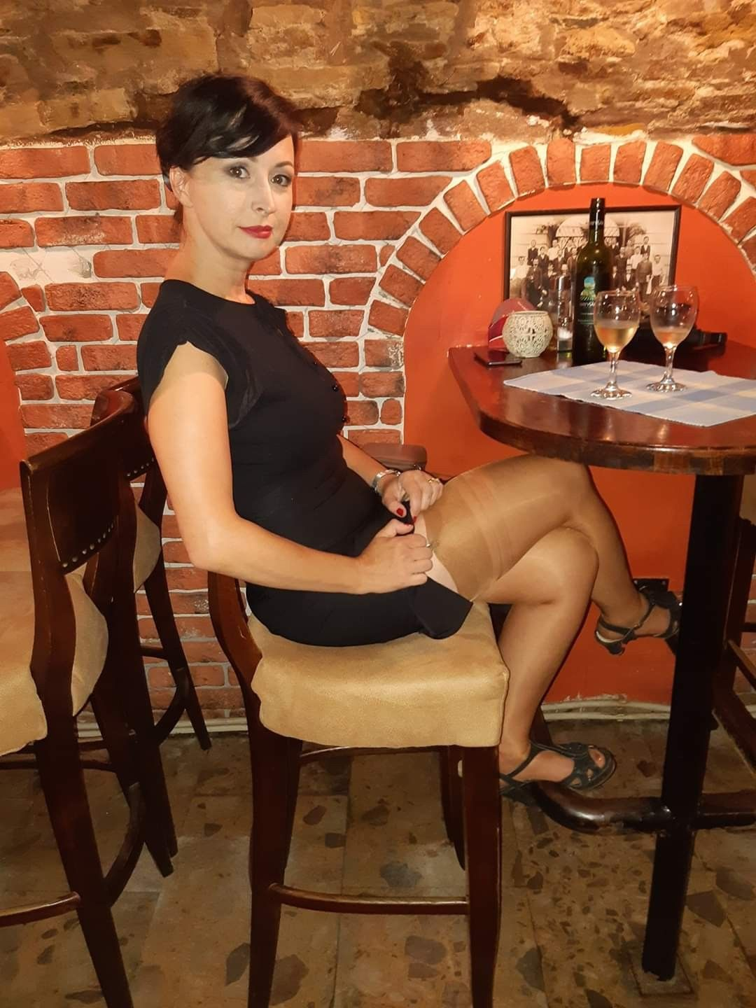 Pin on Stockings in Public