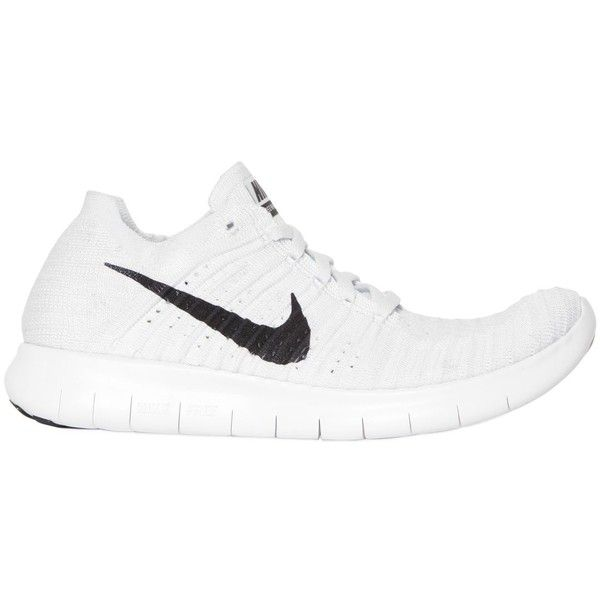 7fed7d9848885 Nike Women Free Flyknit Running Sneakers ( 185) ❤ liked on Polyvore  featuring shoes