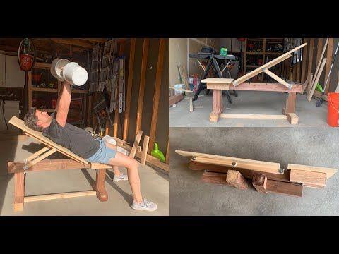 diy adjustable weight bench  stepstep tutorial