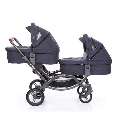 abc design zoom tandem double stroller pram street. Black Bedroom Furniture Sets. Home Design Ideas