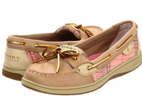 Sperry Topsider Angelfish Linen Coral Rope Sequins women's shoes NIB