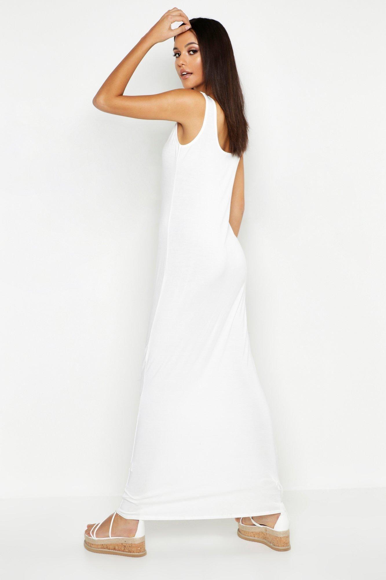 Tall Basic Maxi Dress Boohoo Basic Maxi Dress Maxi Dress Green Grey Maxi Dress [ 2000 x 1333 Pixel ]