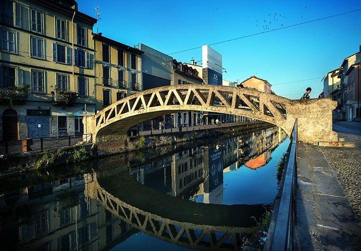 Quando un luogo diventa poesia... Foto di Franco Brandazzi #milanodavedere Milano da Vedere