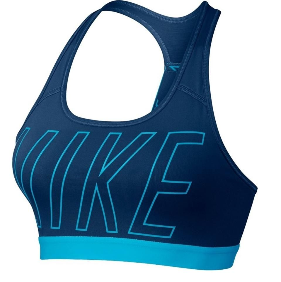 Nike Blue Pro Logo Padded (Removable) Small 847570429