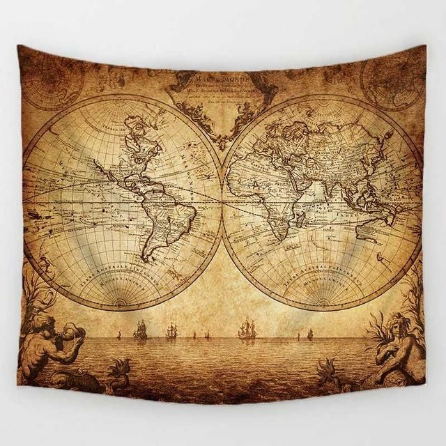 Unique world map blanket fuel the fernweh products pinterest unique world map blanket fuel the fernweh products pinterest vintage decorations wall tapestries and beach towel gumiabroncs Image collections
