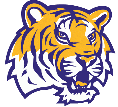 Ncaa Logos For Sportslogos Net Lsu Tigers Logo Print Decals Lsu