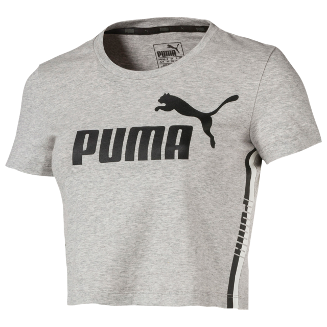 PUMA Modern Sport Cropped TShirt Women's Womens