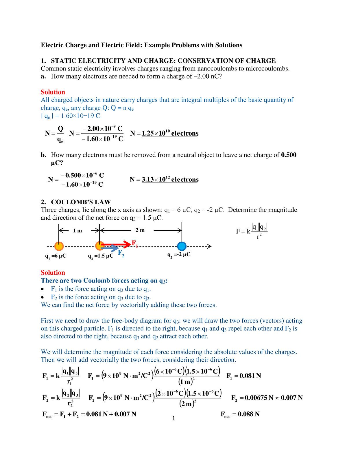 13 Worksheets What Is The Direction Of Each Force Esl
