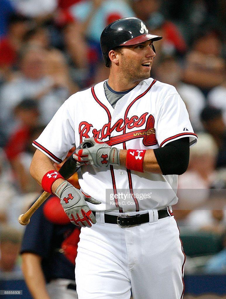 Jeff Francoeur Of The Atlanta Braves Against The Boston Red Sox At Atlanta Braves Braves Boston Red Sox