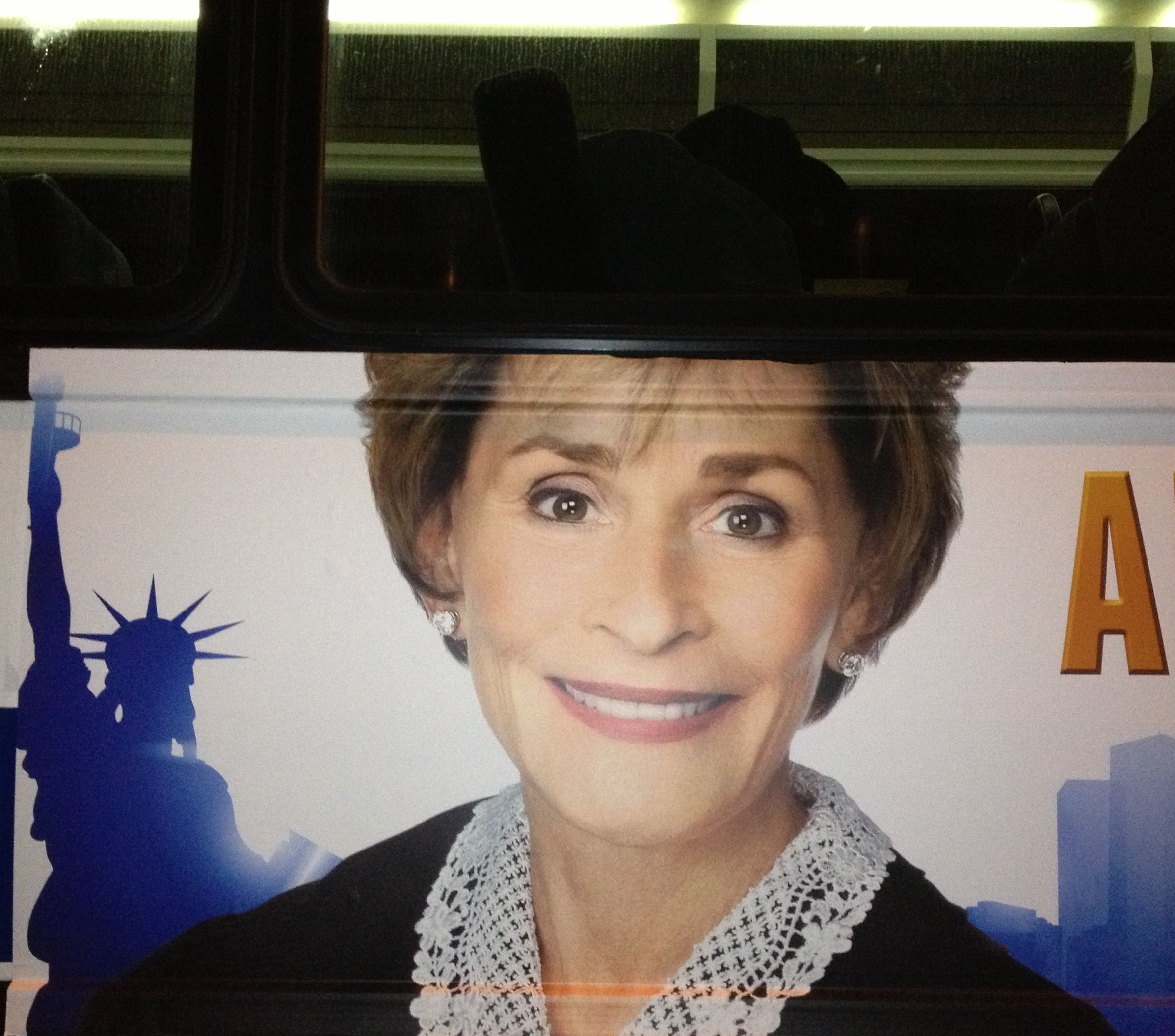 Judge Judy A Bus And The Statue Of Liberty Judge Judy Statue Of Liberty Statue