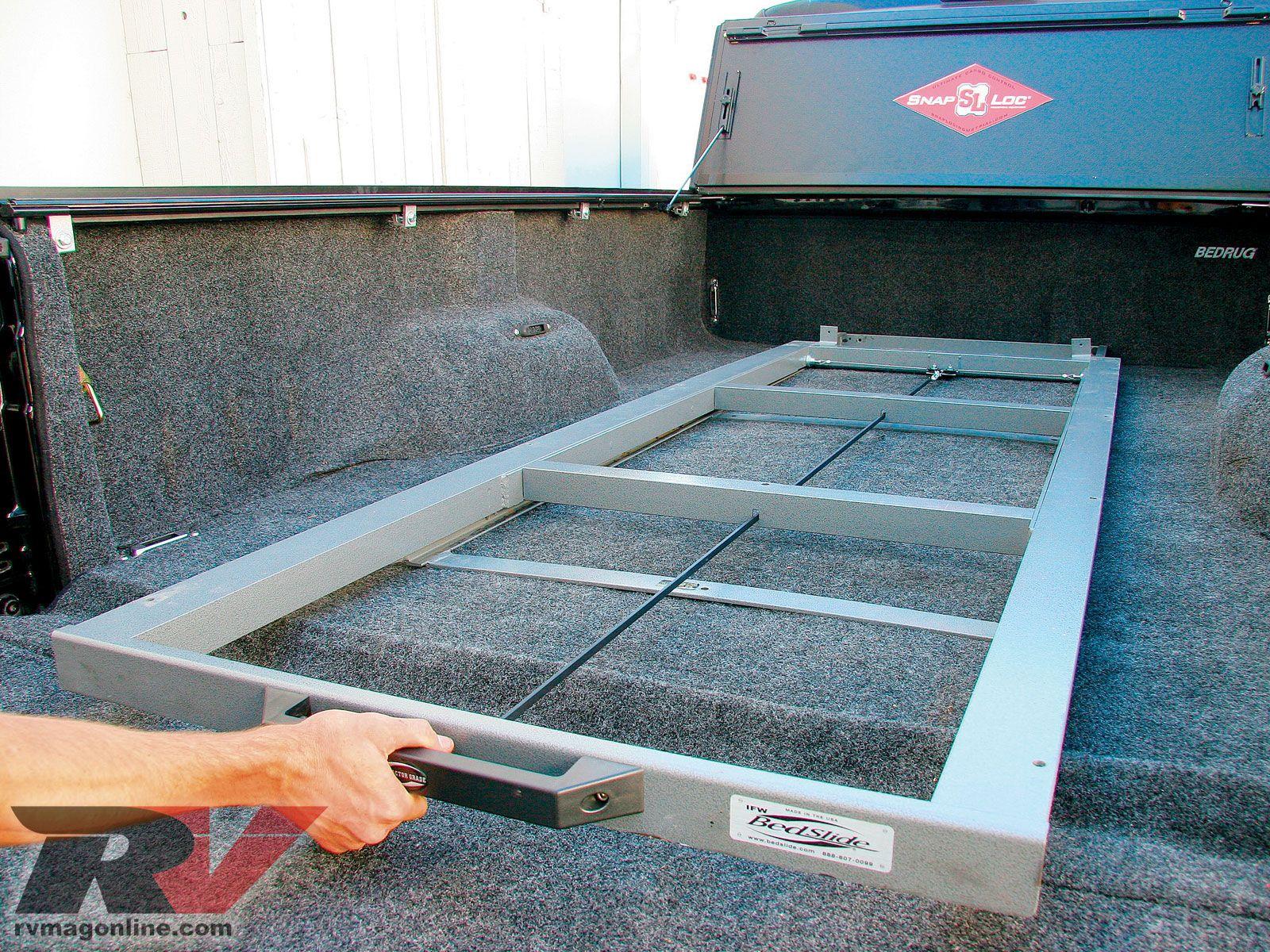 Image result for DIY Truck Bed Slide Out imagens