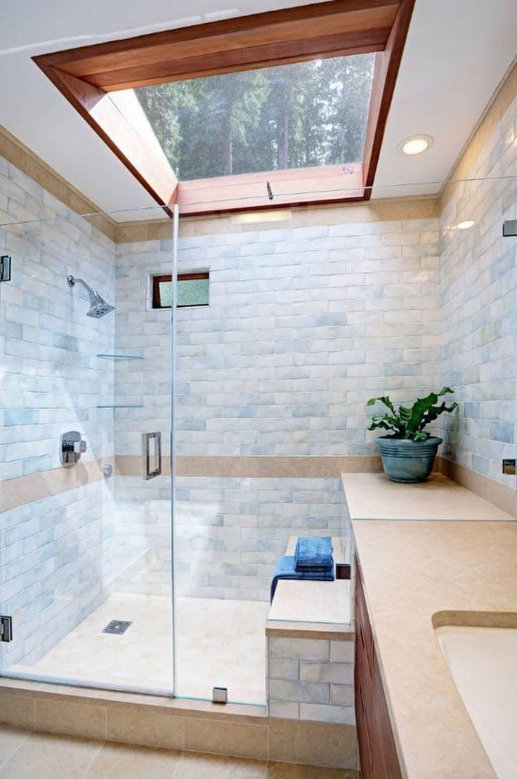 Schöne 45 schöne zeitgenössische Badezimmer Designs. Mehr unter homishome.com / ... - #Badezimmer #Designs #homishomecom #Mehr #schöne #unter #Zeitgenössische #simplebathroomdesigns