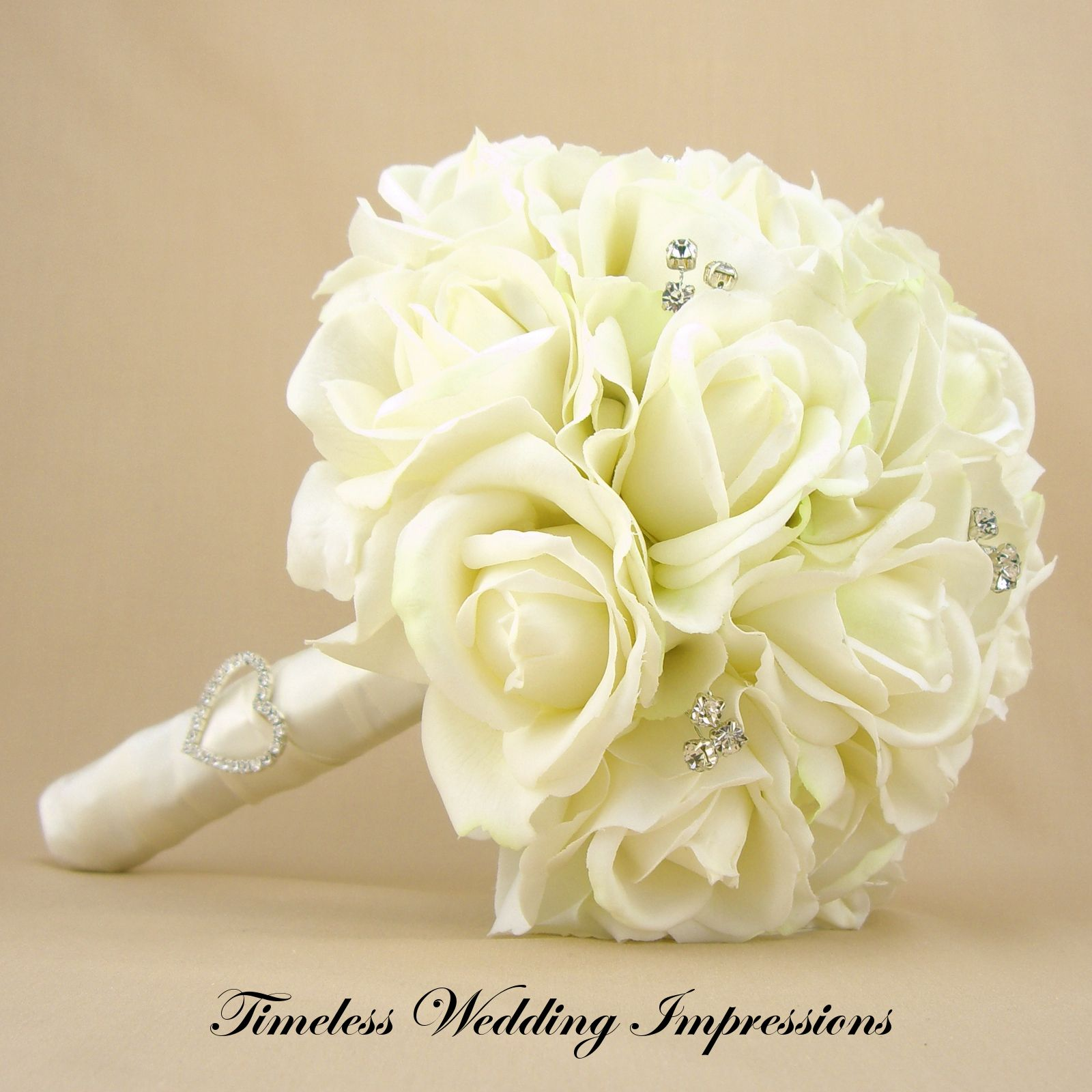 Bridal ouquets with virginia roses and hydragenas bridal bouquet bridal ouquets with virginia roses and hydragenas bridal bouquet white roses real touch silk wedding flowers rhinestones mightylinksfo