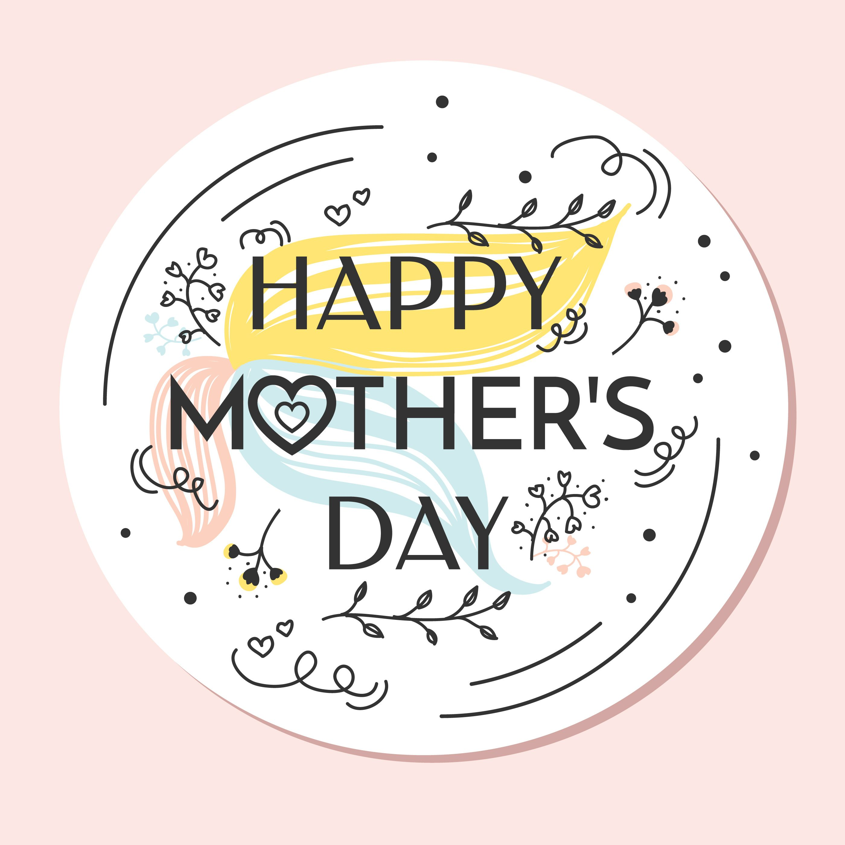Happy Mothers Day Vector Choose From Thousands Of Free Vectors Clip Art Designs Icons And Ill Mothers Day Images Happy Mothers Day Images Happy Mothers Day