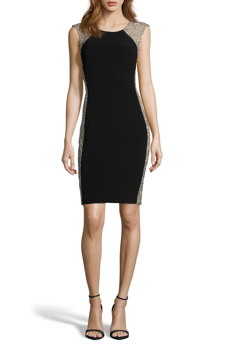 Free Shipping And Returns On Xscape Beaded Cocktail Dress At Nordstrom Com P Sparkly And Beaded Cocktail Dress Fashion Clothes Women Cocktail Dresses Online [ 1196 x 780 Pixel ]