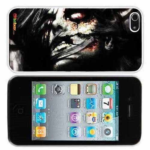 Beauty Zombie Fashion Design Hard Case Cover Skin Protector for Iphone 4 4s Iphone4 At