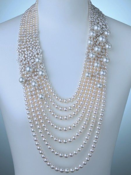 baa3a6f92 pearls by Dakota Smith | Pearls | Jewelry, Pearl statement necklace ...