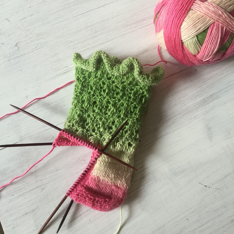 Photo of Ringelblume Socken