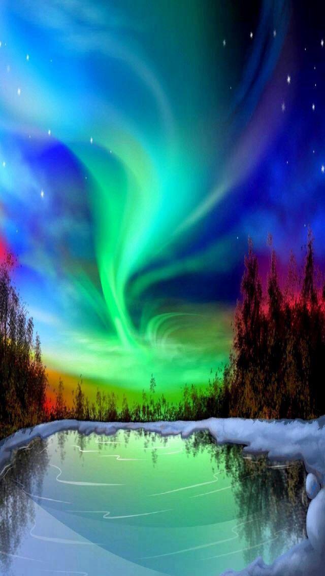 Northern Lights Northern Lights Northen Lights Aurora