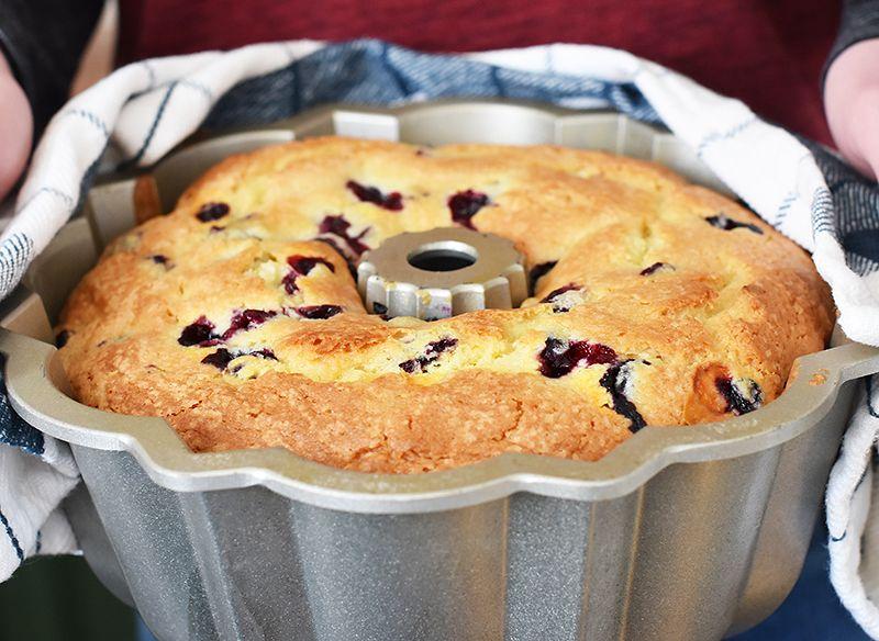Bringing A Lemon Blueberry Bundt Cake Lemon Blueberry Bundt Cake Blueberry Bundt Cake Blueberry Sour Cream Cake