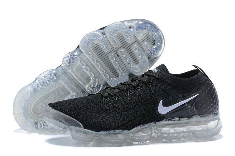 2d8f8ebf57bb4 Nike Air Vapormax Flyknit 2 Black White Nike Casual Shoes