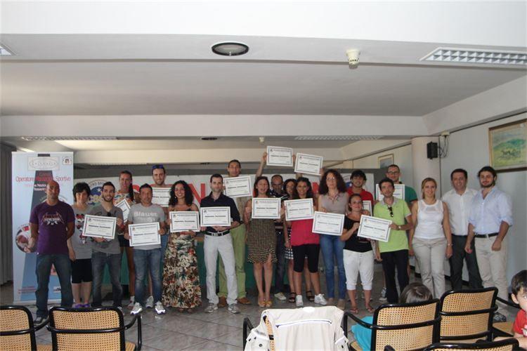 Diploma Nazionale Operatore Massaggio Sportivo CSEN