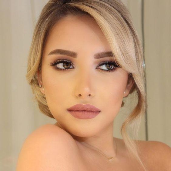 40 natürliche Hochzeit Make-up-Ideen #makeuplooks