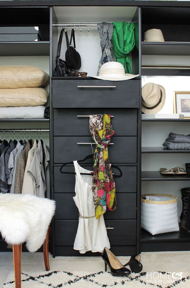 A dresser plus 2 bookcases \u003d A Full-Functioning (and Organized