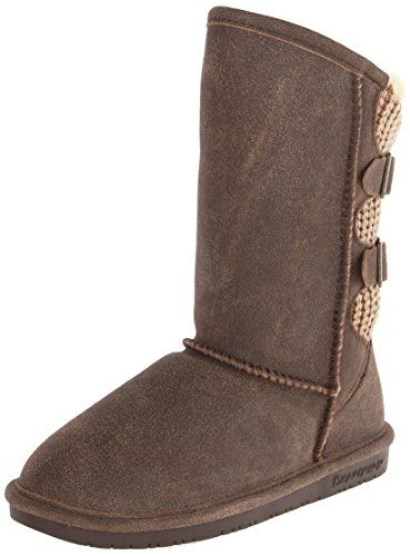 BEARPAW Women's Boshie Snow Boot,Chestnut/Distressed,10 M US Bearpaw http://www.amazon.com/dp/B00J98R4XK/ref=cm_sw_r_pi_dp_kYdzub0ZQ3CWE