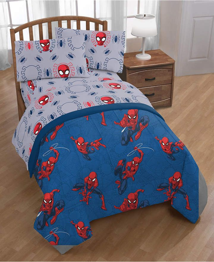 Marvel Spiderman Spidey Crawl Full 5 Pc Bed In A Bag Reviews