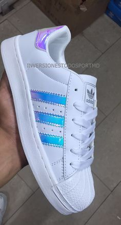Adidas Super Star Tornasol Reflectivas Original Bs. 49.999