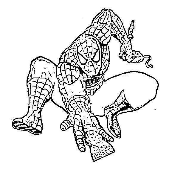 Action Hero Coloring Pages