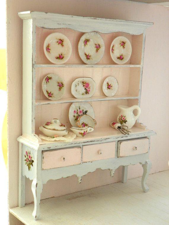 credenza -armadietto mobile per la cucina in miniatura ,casa di ...