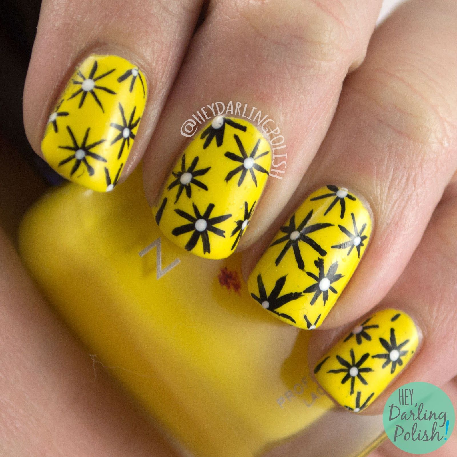 Hey, Darling Polish!: The Nail Challenge Collaborative - Fashion #4 ...