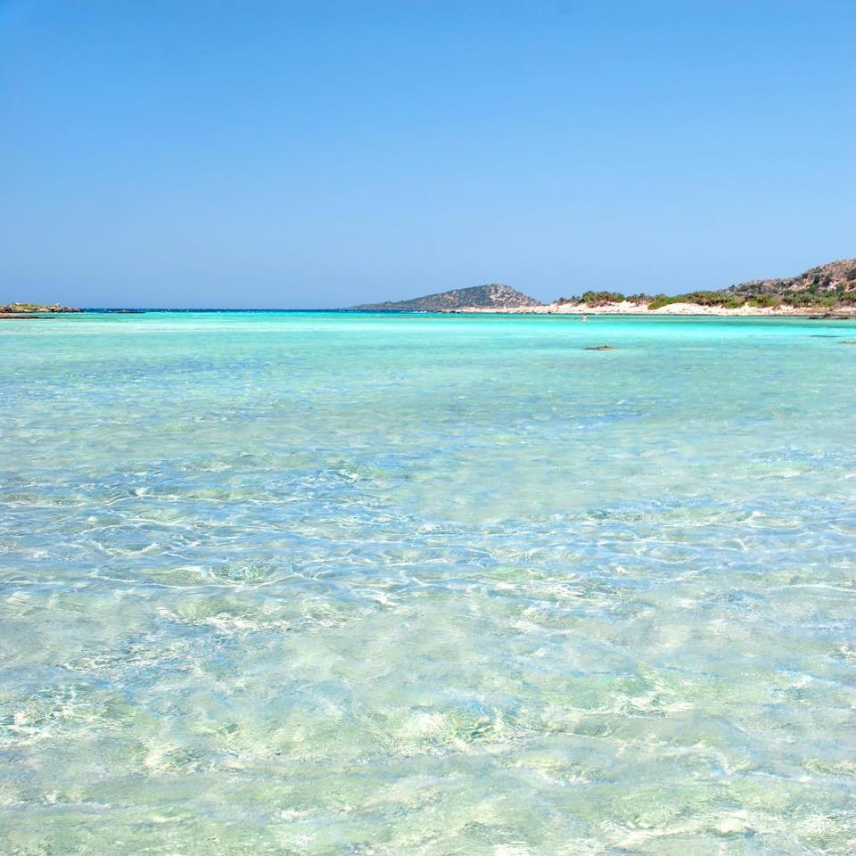 Crete island, Elafonisi beach, Greece